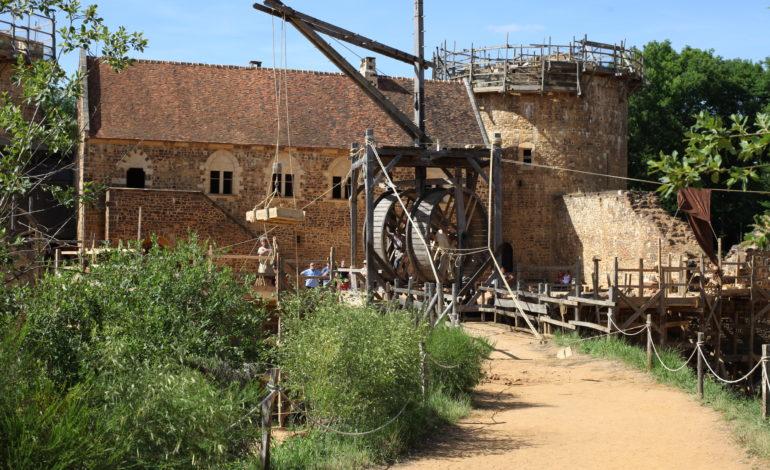 Chantier médiéval de Guédelon