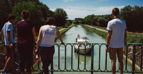 croisière groupe sur le canal du Nivernais