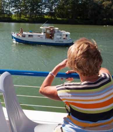 Balade en bateau à Pont-de-Vaux