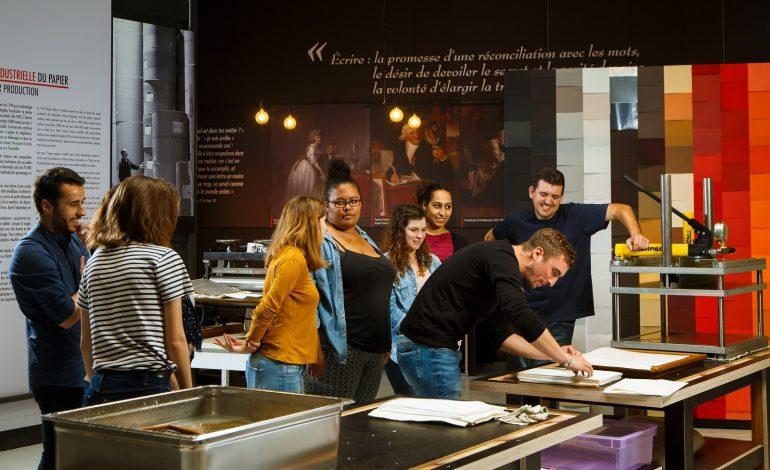 Atelier Musée de l'Imprimerie à Malesherbes