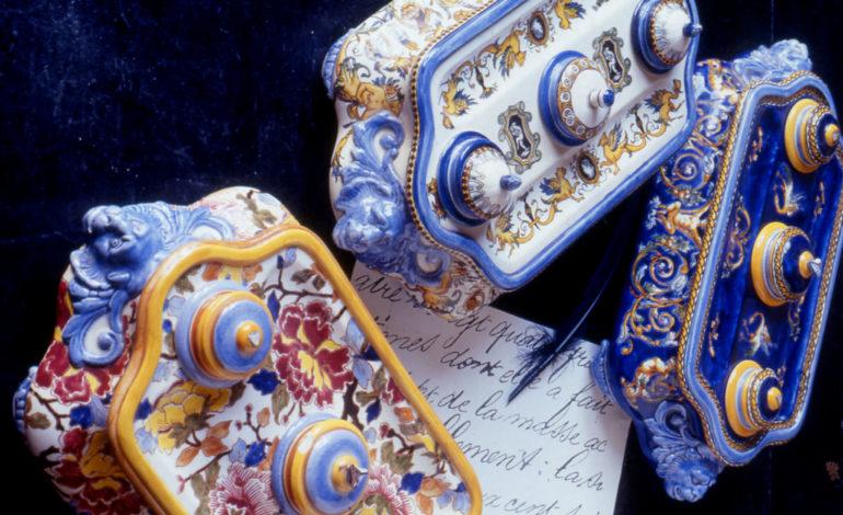 Encriers Renaissance italienne - Faïencerie de Gien