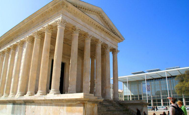 Nîmes-Maison Carrée et Carré D'Art-1640