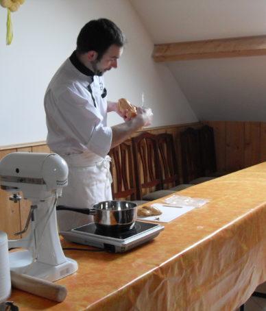 démonstration de cuisine