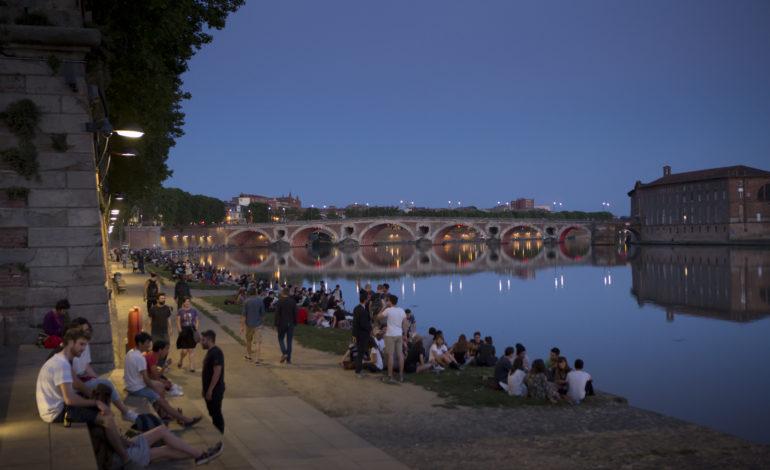 Toulouse et les berges de Garonne