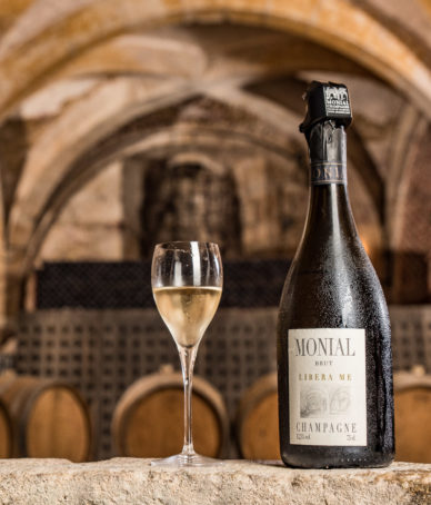 Prestige du champagne et du cristal