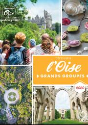 Découvrir l'Oise en Groupes - spéciale Grands Groupes 2020