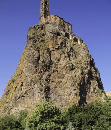 Rochet et chapelle Saint-Michel d'Aiguilhe