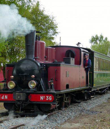 Les trains à vapeur de Crévecoeur_le-Grand