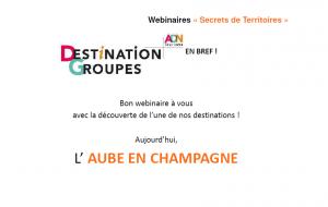 Wébinaire Secrets de Territoires : Aube en Champagne