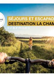 brochure destination La Champagne